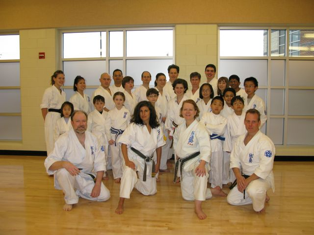 Howard County Seido's Kagami Biraki, January 2009